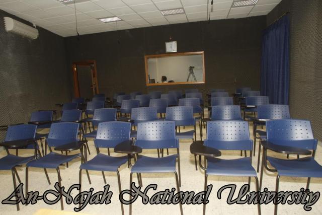 احدى قاعات التدريس في المعهد الكوري