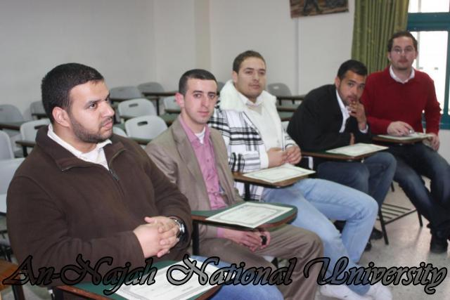 توزيع شهادات دورة جوزيف حنانيا EDITED  2
