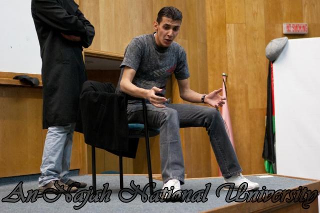 عرض مسرحية  لسنا ملائكة، لسنا شياطين ، لفرقة النجاح للفنون المسرحية 8