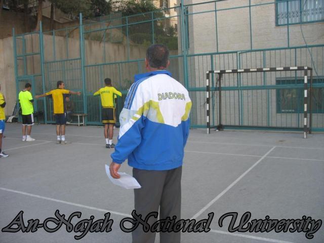 محاضرات عملي في كلية الرياضة