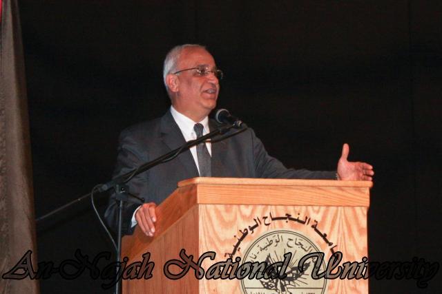 ندوة د.صائب عرقات، وناصر اللحام حول تصريحات قناة الجزيرة 18