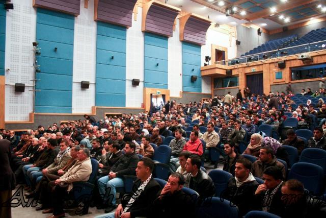 ندوة د.صائب عرقات، وناصر اللحام حول تصريحات قناة الجزيرة 8