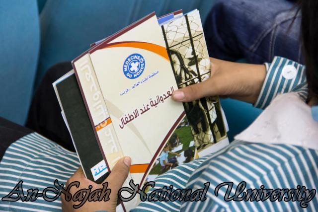 إفتتاح معرض صور في الجامعة بعنوان فلسطين كما تراها عيوني 15.10.2012 2