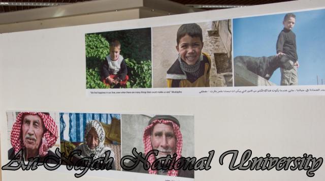 إفتتاح معرض صور في الجامعة بعنوان فلسطين كما تراها عيوني 15.10.2012 33