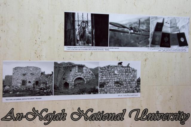 إفتتاح معرض صور في الجامعة بعنوان فلسطين كما تراها عيوني 15.10.2012 35