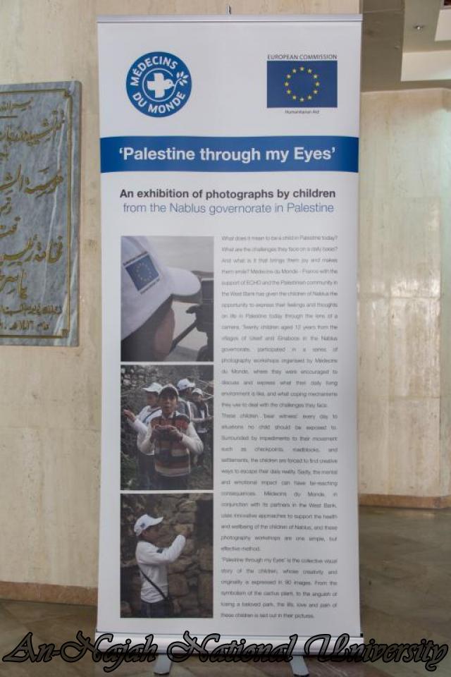 إفتتاح معرض صور في الجامعة بعنوان فلسطين كما تراها عيوني 15.10.2012 38