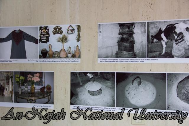 إفتتاح معرض صور في الجامعة بعنوان فلسطين كما تراها عيوني 15.10.2012 39