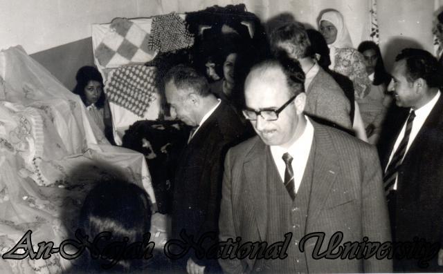 اثناء زيارة لمعرض مدرسي 1972
