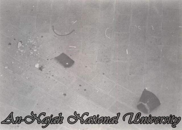 اشتباكات على مدخل الجامعة بين الطلاب وجنود الاحتلال