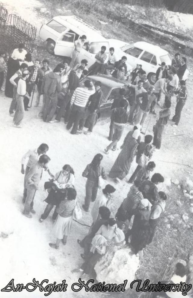 اعمال تطوعية لطلبة الجامعة