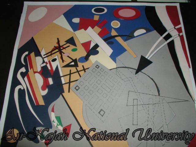اعمال طلاب كلية الفنون