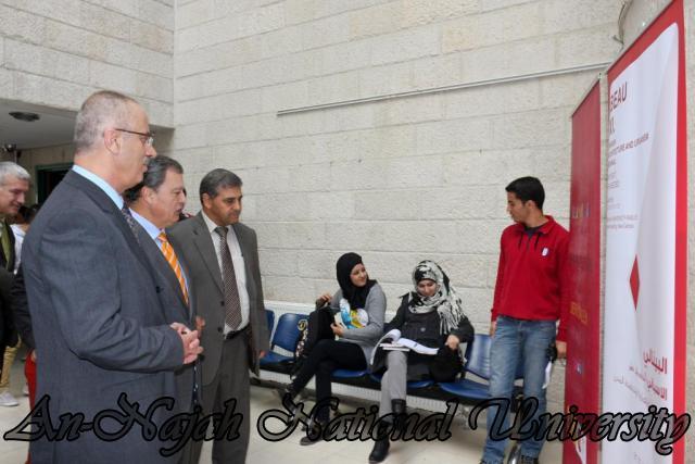 افتتاح معرض البينالي الإسباني الحادي عشر للهندسة المعمارية وتخطيط المدن 14.11.2012 2