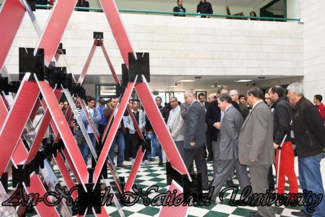 افتتاح معرض البينالي الإسباني الحادي عشر للهندسة المعمارية وتخطيط المدن 14.11.2012 3