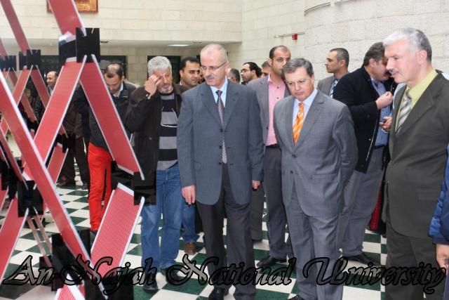افتتاح معرض البينالي الإسباني الحادي عشر للهندسة المعمارية وتخطيط المدن 14.11.2012 7