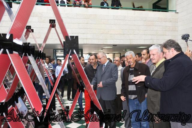 افتتاح معرض البينالي الإسباني الحادي عشر للهندسة المعمارية وتخطيط المدن 14.11.2012 9