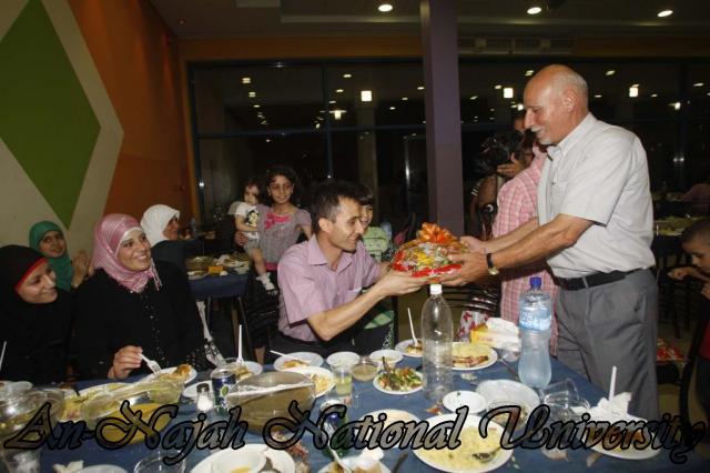 افطار نقابة العاملين برعاية شركة المسلماني إخوان