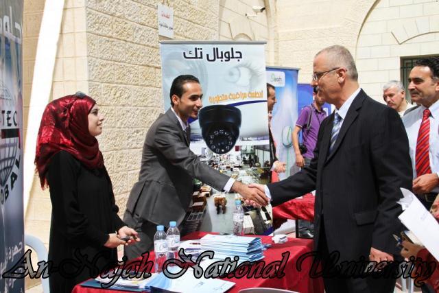 الجامعة تقيم فعاليات يوم النجاح التوظيفي برعاية حصرية من البنك العربي 24.09.2012 19