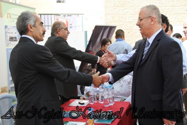 الجامعة تقيم فعاليات يوم النجاح التوظيفي برعاية حصرية من البنك العربي 24.09.2012 21