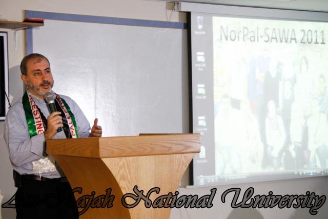 الحفل الختامي لمشروع NorPal SAWA 2011   كلية الطب 2