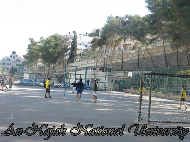 العاب منوعة في كلية الرياضة