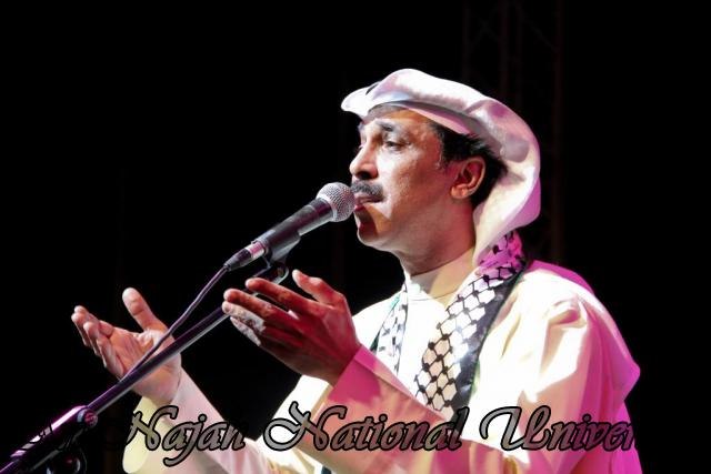 الفنان الكويتي الكبير عبد الله الرويشد يحي حفلة غنائية في جامعة النجاح الوطنية 35