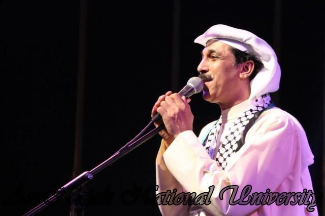 الفنان الكويتي الكبير عبد الله الرويشد يحي حفلة غنائية في جامعة النجاح الوطنية 44 0
