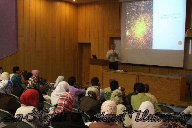 اللقاء المشترك بين كلية العلوم وكلية الشريعة حول نشاة الكون (35)
