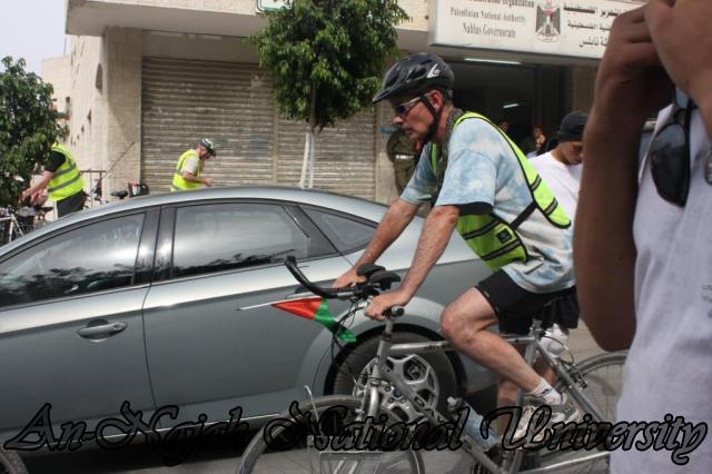 الوفد الأوروبي من سائقي الدراجات الهوائية