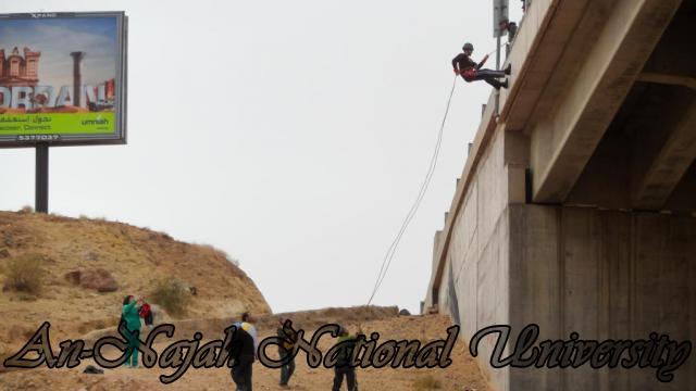 بطولة المغامرة والتحدي الأولى للجامعات الفلسطينية 12
