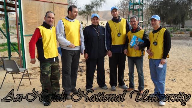 بطولة المغامرة والتحدي الأولى للجامعات الفلسطينية 6