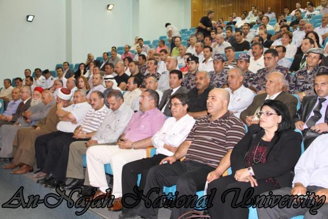 تكريم مدير شرطة نابلس  سابقاً عمر البزور 11.09.2012 12