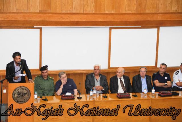 تكريم مدير شرطة نابلس  سابقاً عمر البزور 11.09.2012 14