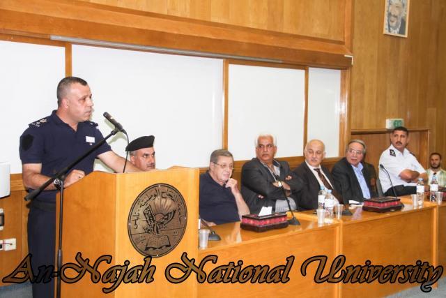 تكريم مدير شرطة نابلس  سابقاً عمر البزور 11.09.2012 15