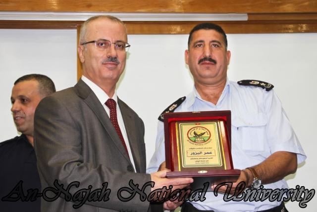 تكريم مدير شرطة نابلس  سابقاً عمر البزور 11.09.2012 24