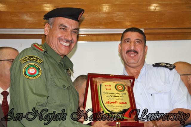 تكريم مدير شرطة نابلس  سابقاً عمر البزور 11.09.2012 26