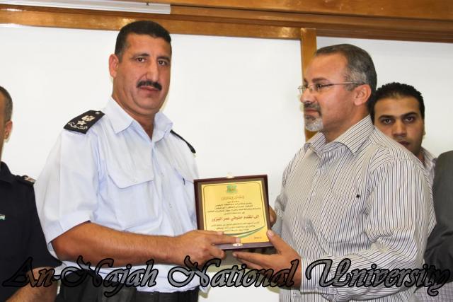 تكريم مدير شرطة نابلس  سابقاً عمر البزور 11.09.2012 27