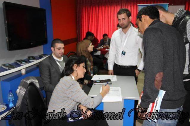 جامعة النجاح الوطنية تعقد ملتقى الأعمال ويوم التوظيف 2012 06.12.2012 17