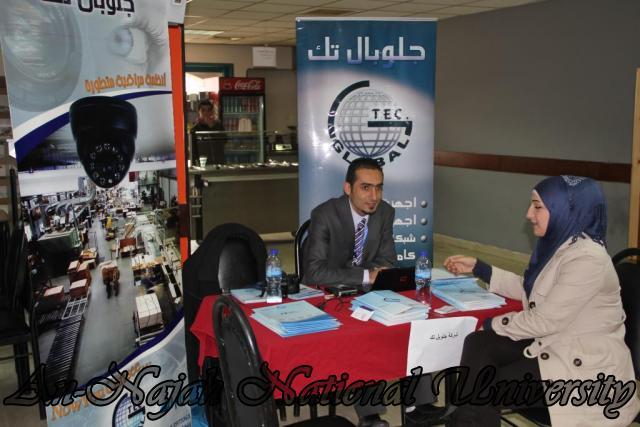 جامعة النجاح الوطنية تعقد ملتقى الأعمال ويوم التوظيف 2012 06.12.2012 24