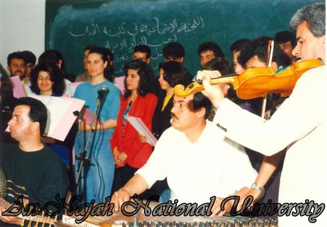 حفل اللجنة الاجتماعيه في كلية الفنون
