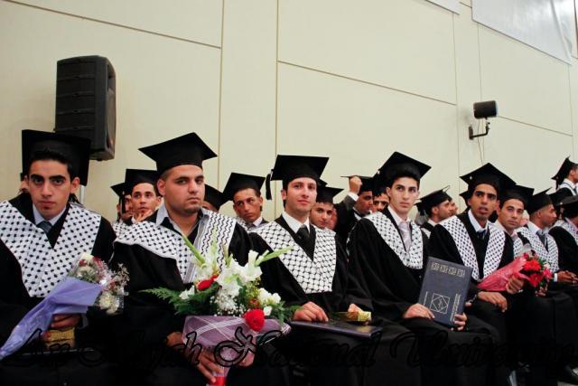 حفل تخريج الفوج التاسع من طلبة كلية هشام حجاوي 39