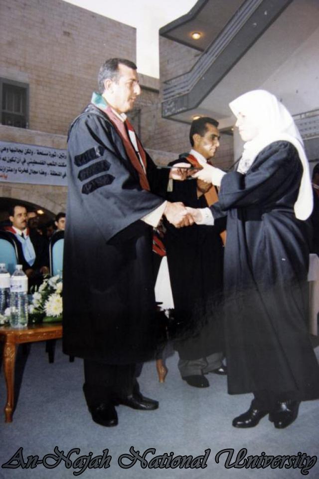 حفل تخريج كلية المجتمع 1998 1999 (10)