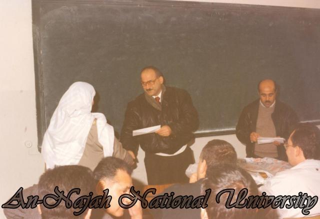 حفل تعارف ومحاضرات في كلية العلوم