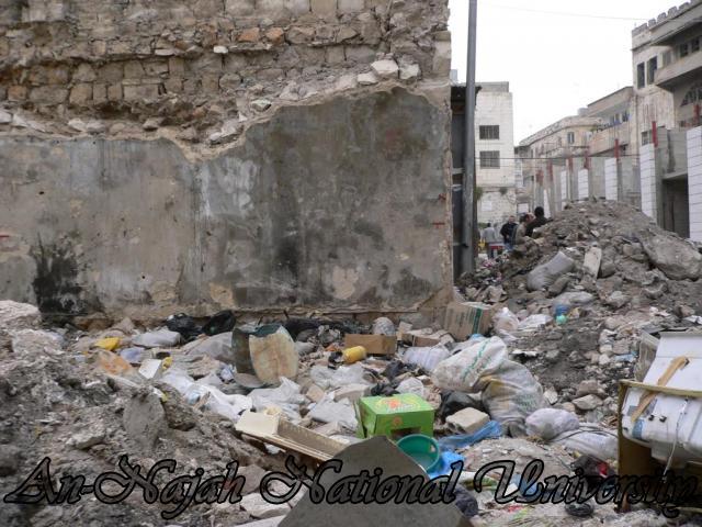 خان الوكالة قبل ترميمة من قبل مركز الزلازل