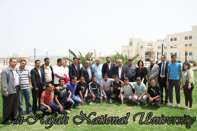 زيارة الوفد الرياضي العربي 3