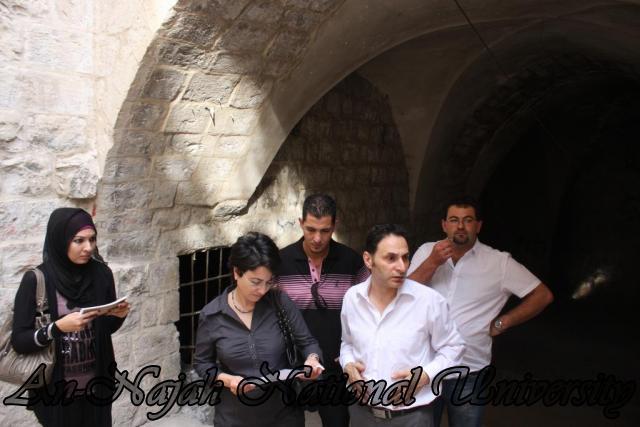 زيارة حنـين الزعبي النائبة العربية في الكنيست الاسرائيلي للجامعة