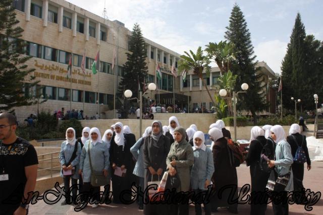 زيارة مدرسة بنات عتمة الثانوية (14)