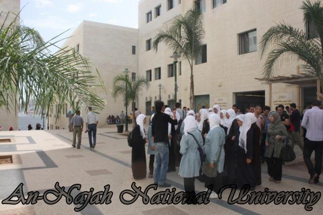 زيارة مدرسة بنات عتمة الثانوية (2)