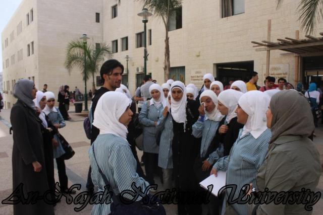 زيارة مدرسة بنات عتمة الثانوية (5)