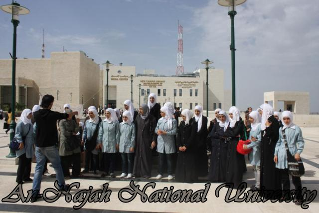 زيارة مدرسة بنات عتمة الثانوية (8)