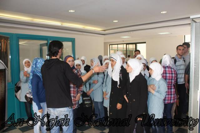 زيارة مدرسة بنات عتمة الثانوية